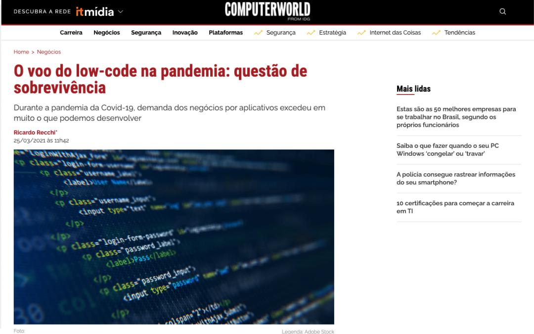 O Vôo do no-code e low-code